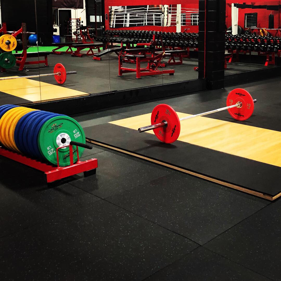 Free Weights Area 1